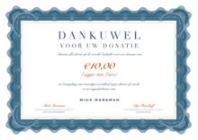 Donatie Dierenrechten: 10 Euro